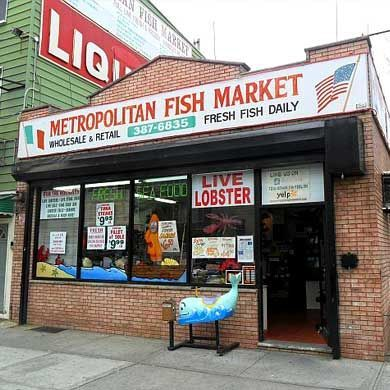Metropolitan Fish Market Delivery or Pickup in Brooklyn, NY
