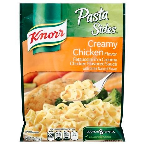 Buy Knorr Pasta Sides Fettuccini Creamy Chic Online
